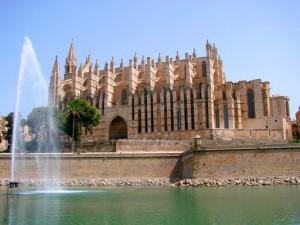 Посещение Пальма де Майорка Кафедральный собор