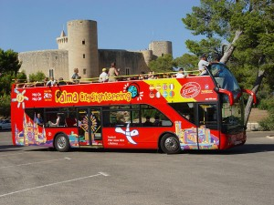 Туристический автобус Пальмы де Майорка